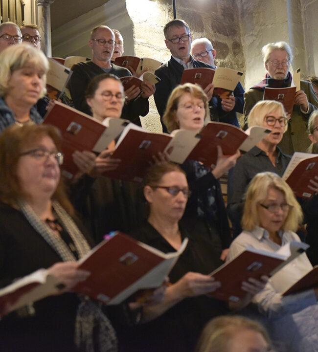 Bild: Rutter: Requiem, Genrep, Dalby kyrkan, November 2019