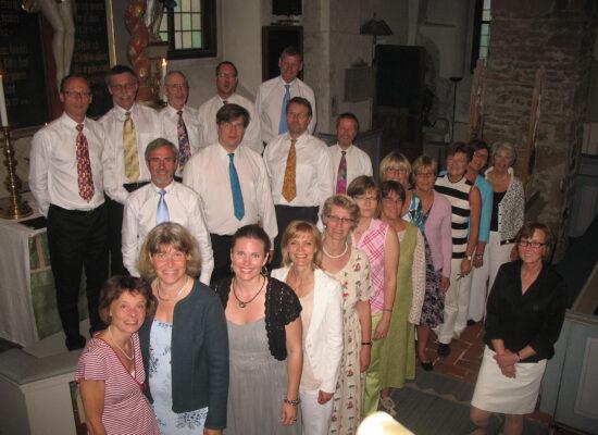Bild: Sommarkonsert i Dalby kyrkan, Juni 2009
